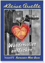 "Aufkleber-Mini-Buch ""Wundervolles entdecken"""