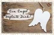 Tee-Postkarte - Ein Engel begleite Dich!