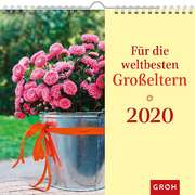 Für die weltbesten Großeltern 2020 - Wandkalender