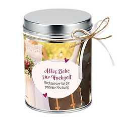 """Teedose """"Alles Liebe zur Hochzeit"""""""