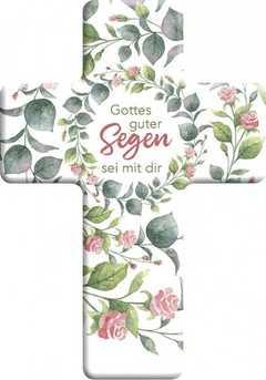 """Metall-Kreuz """"Gottes guter Segen sei mit dir"""""""