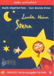 Leuchte kleiner Stern - Liederheft