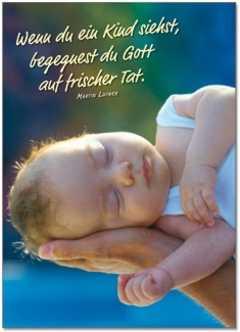 Postkarten: Wenn du ein Kind siehst, 12 Stück
