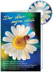 CD-Card: Der Herr segne dich - Geburtstag