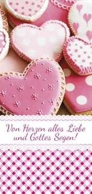 """Magnetlesezeichen - """"Von Herzen alles Liebe"""""""