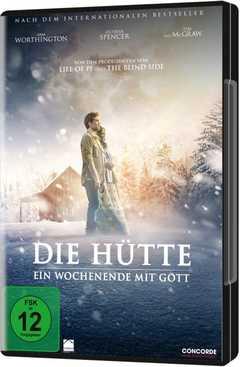 DVD: Die Hütte - Ein Wochenende mit Gott