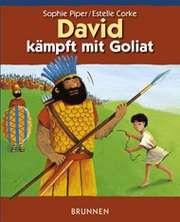 David kämpft mit Goliat